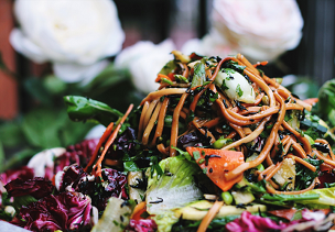 Ultimate Salad with Spicy Noodles
